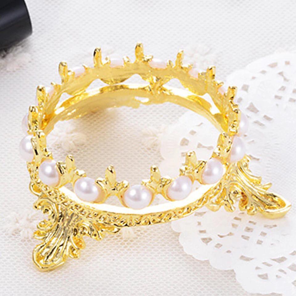 Coroa de suporte para diamante ou pincel  - Sílvia Pedrarias & Cia
