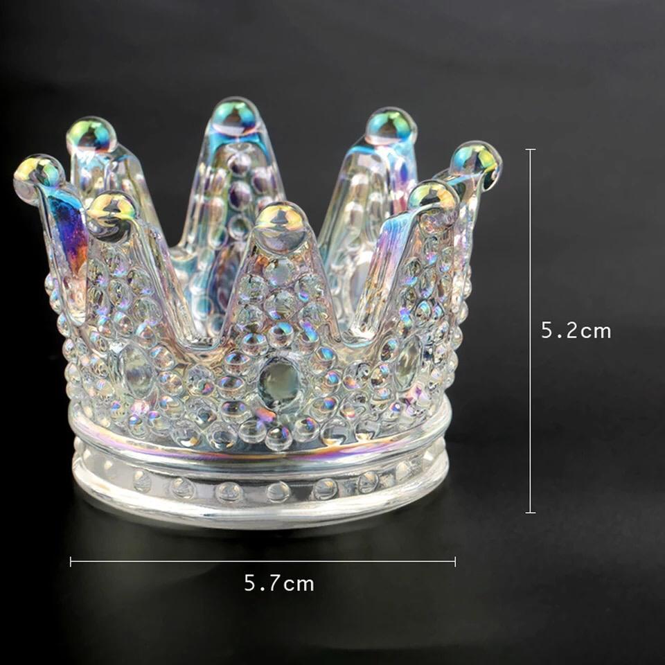 Coroa de vidro  - Sílvia Pedrarias & Cia