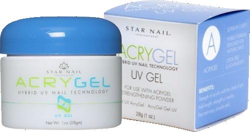 CUCCIO gel ACRYGEL UV Gel 28g CLEAR  - Sílvia Pedrarias & Cia