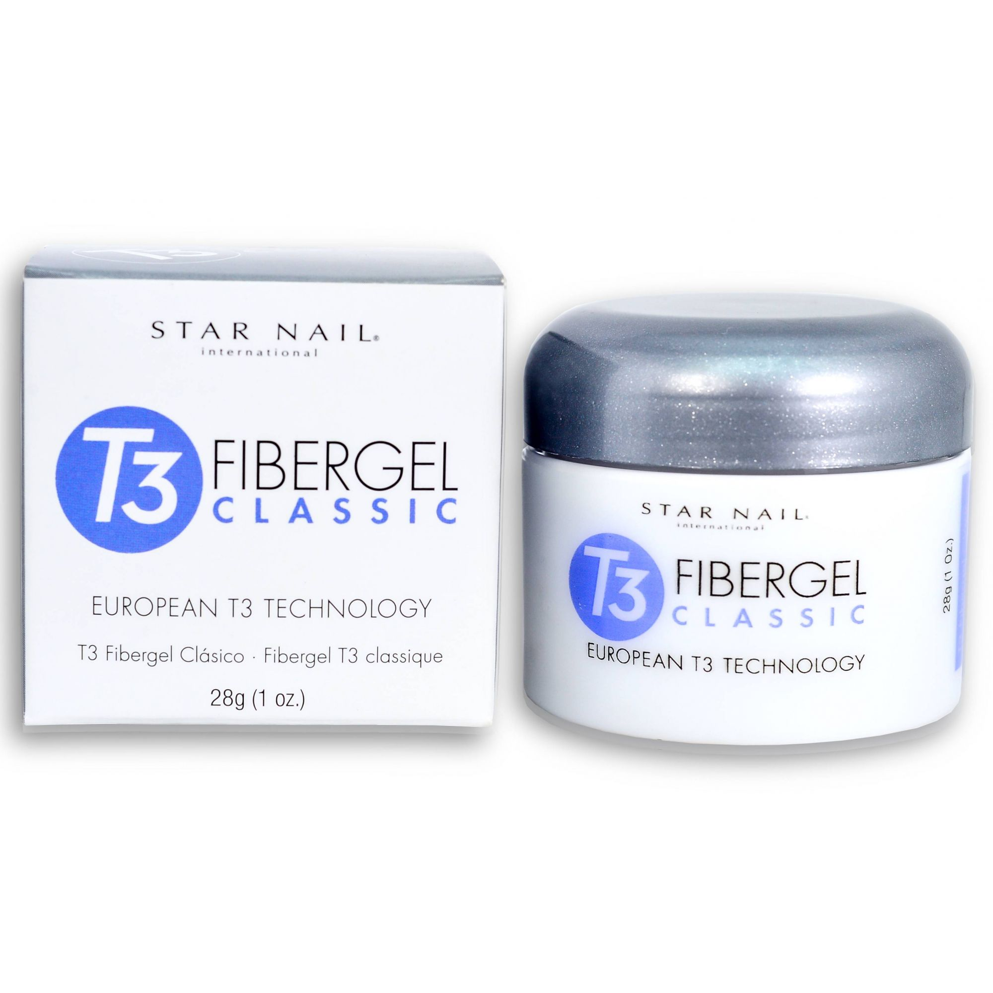 CUCCIO Gel para unhas Star Nail T3 Uv Fibergel PINK  - Sílvia Pedrarias & Cia