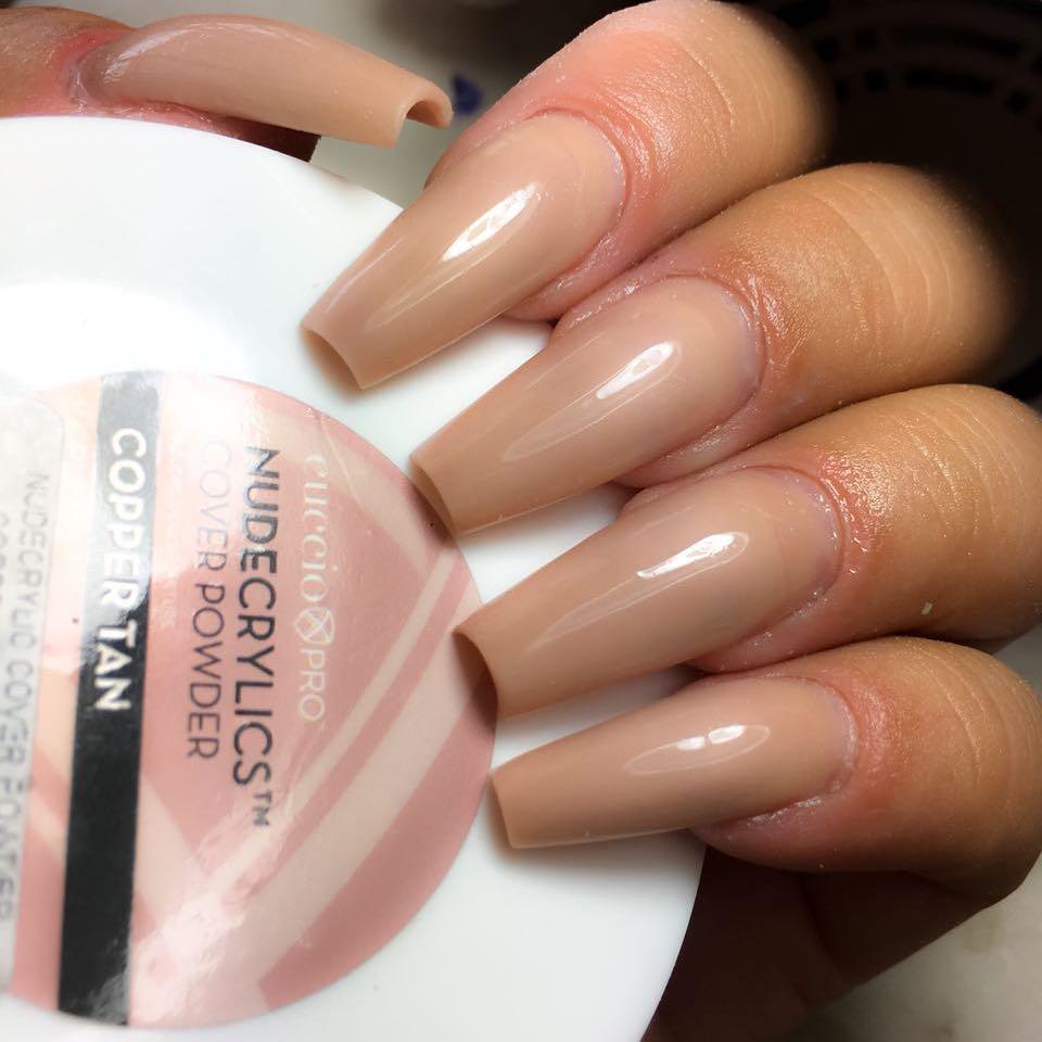 CUCCIO po acrilico nudecrylics COOPER TAN 45g  - Sílvia Pedrarias & Cia