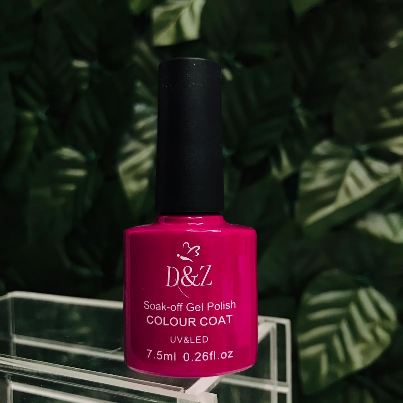 Esmalte em gel DeZ coleção A 40 opções em cores  - Sílvia Pedrarias & Cia