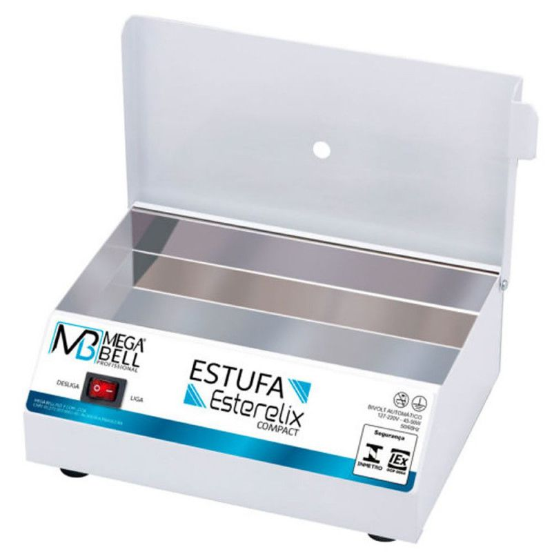 Estufa esterilizadora mega bell compact  - Sílvia Pedrarias & Cia