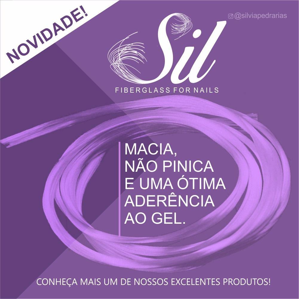 Fibra de vidra Sil Fiberglass for nails  - Sílvia Pedrarias & Cia