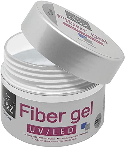 Gel fibergel DeZ CLEAR 30G  - Sílvia Pedrarias & Cia