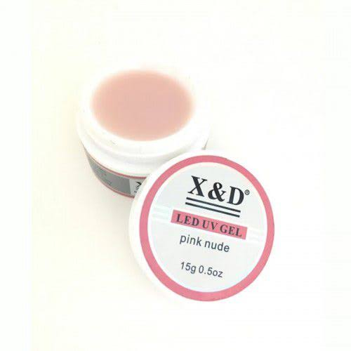 GEL XED NUDE PINK 15g  - Sílvia Pedrarias & Cia