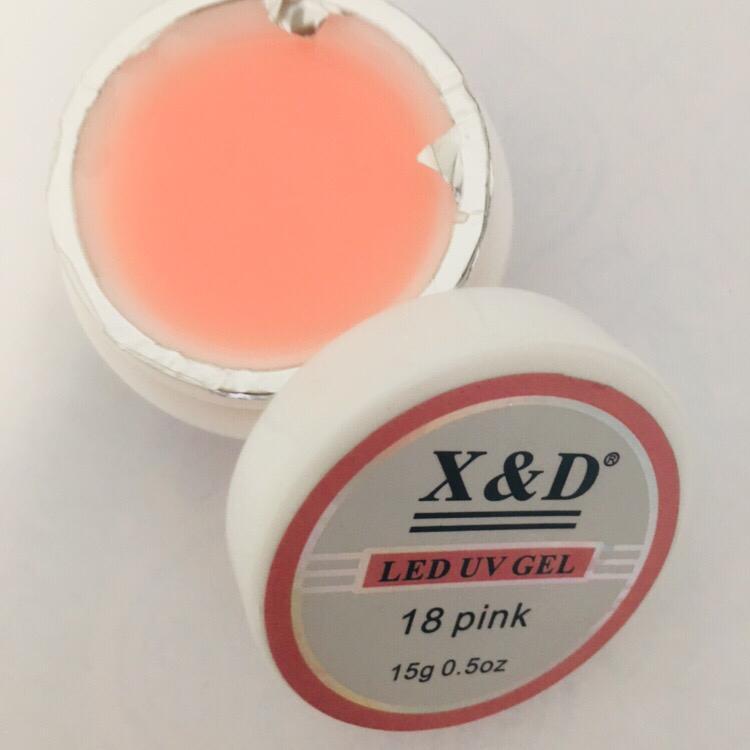 Gel XeD Pink 18  - Sílvia Pedrarias & Cia