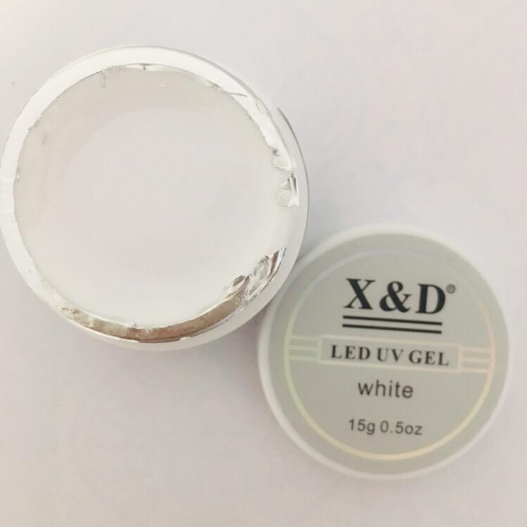 Gel XeD White  - Sílvia Pedrarias & Cia