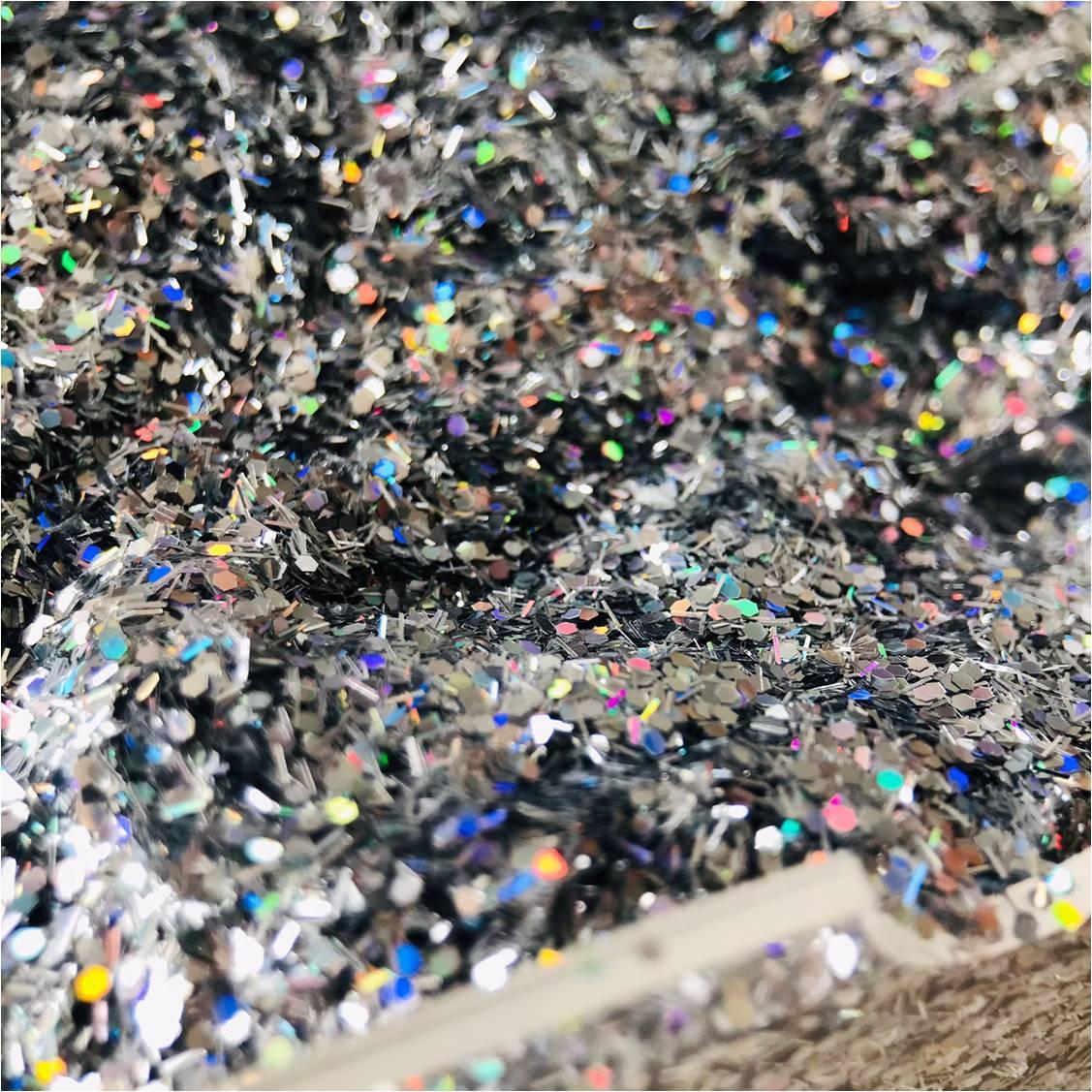 Glitter coleção SHINE (cor 1001) FILETE + 0.40 HOLOGRÁFICO  - Sílvia Pedrarias & Cia
