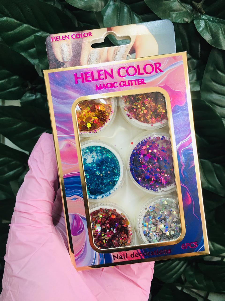 Glitter helen color Flocado   - Sílvia Pedrarias & Cia