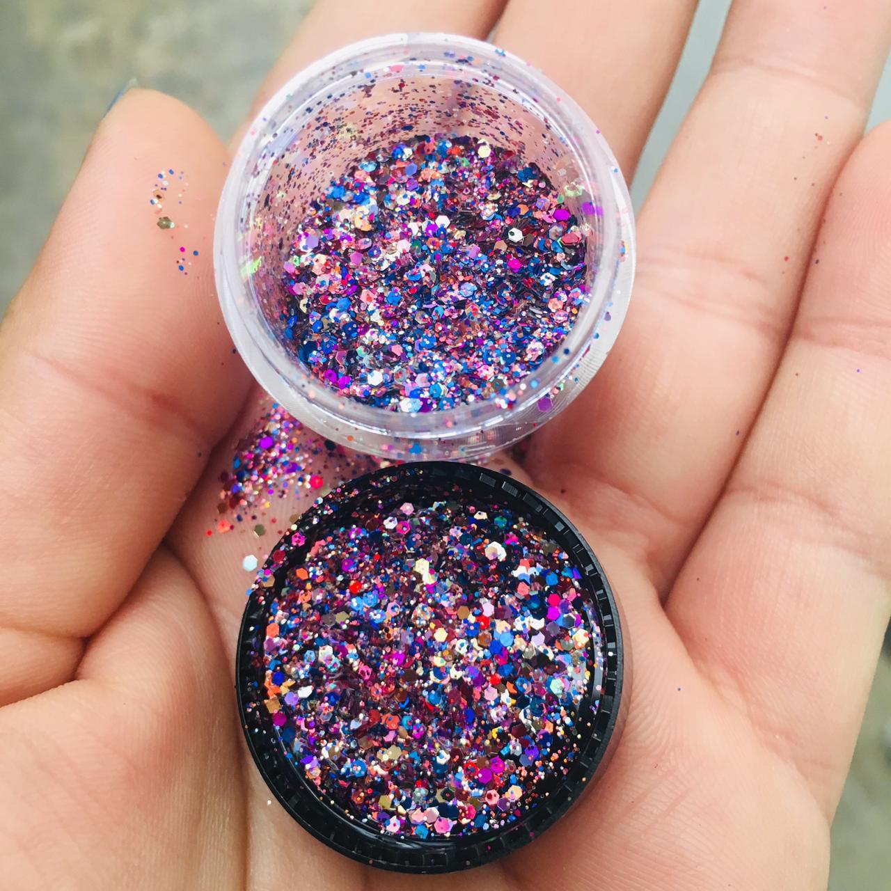 Glitter holografico  - Sílvia Pedrarias & Cia