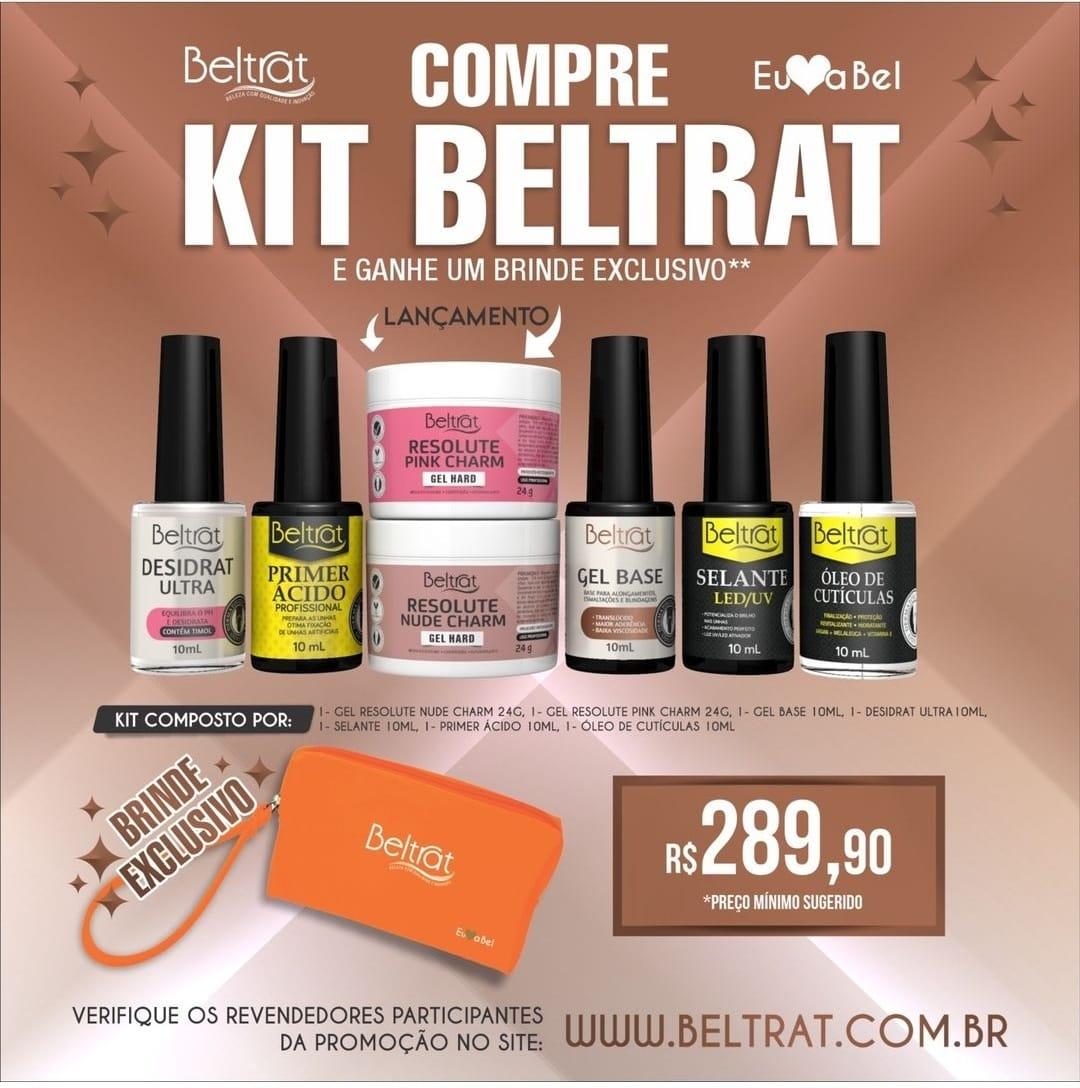 Kit Beltrat Preparação e  Géis +  Brinde Exclusivo - géis para unhas  - Sílvia Pedrarias & Cia