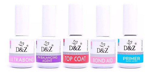 Kit completo DeZ (Primer + Ph + Ultrabond + Ph + Bond aid + Top coat)  - Sílvia Pedrarias & Cia