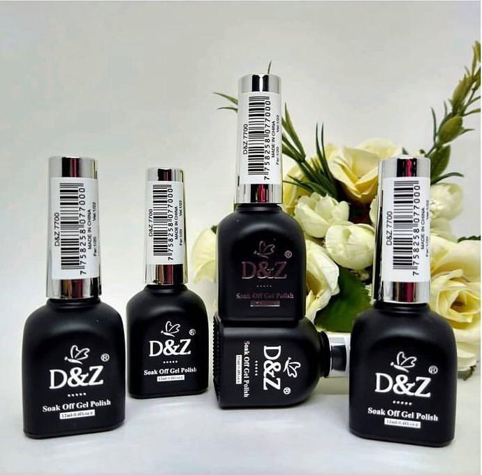 Kit esmalte em gel D&Z coleção luxo  - Sílvia Pedrarias & Cia