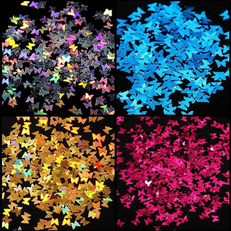 kit glitter borboleta pra encapsular   - Sílvia Pedrarias & Cia