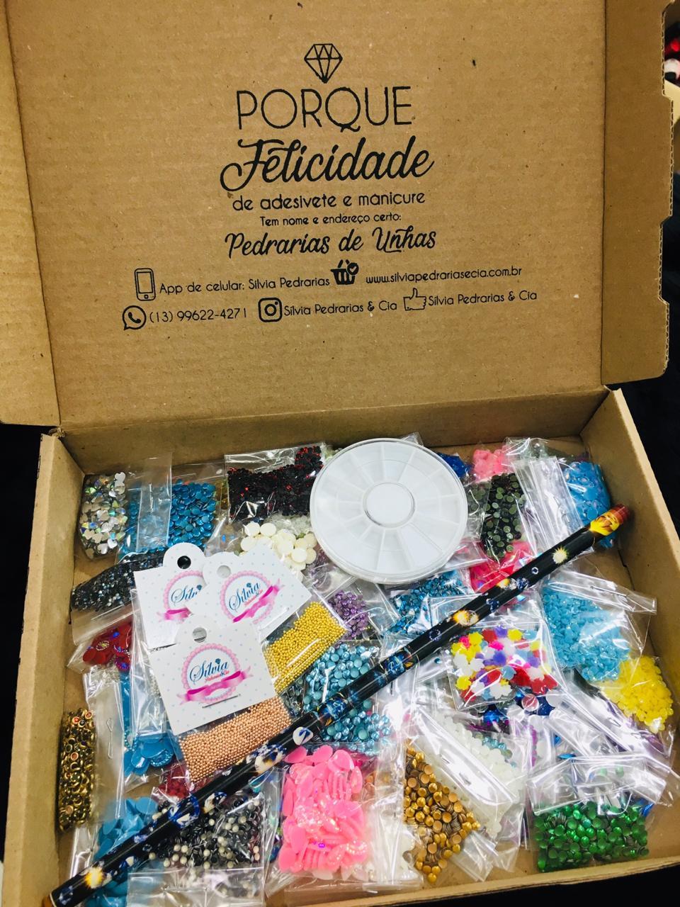 LANÇAMENTO Kit de Pedrarias com 63 pacotes   - Sílvia Pedrarias & Cia