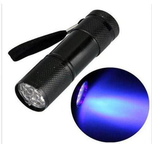 Lanterna LED 9w (não acompanha pilha)  - Sílvia Pedrarias & Cia