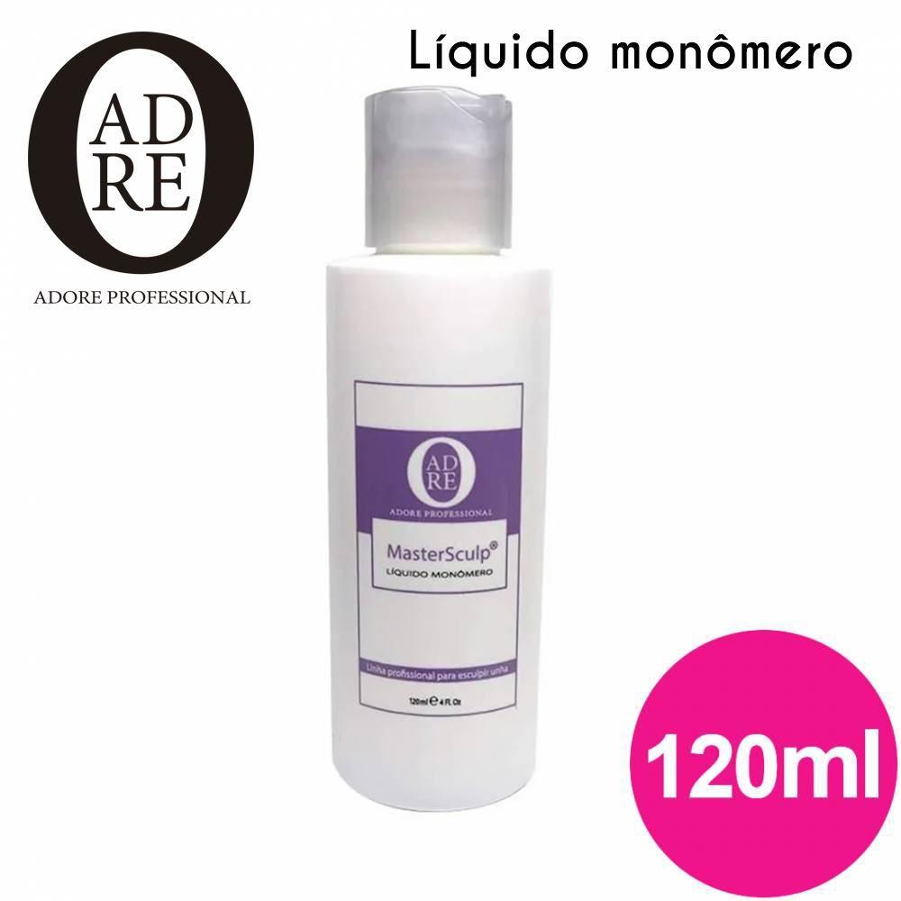 Liquido monomer adore monomer 120ml  - Sílvia Pedrarias & Cia