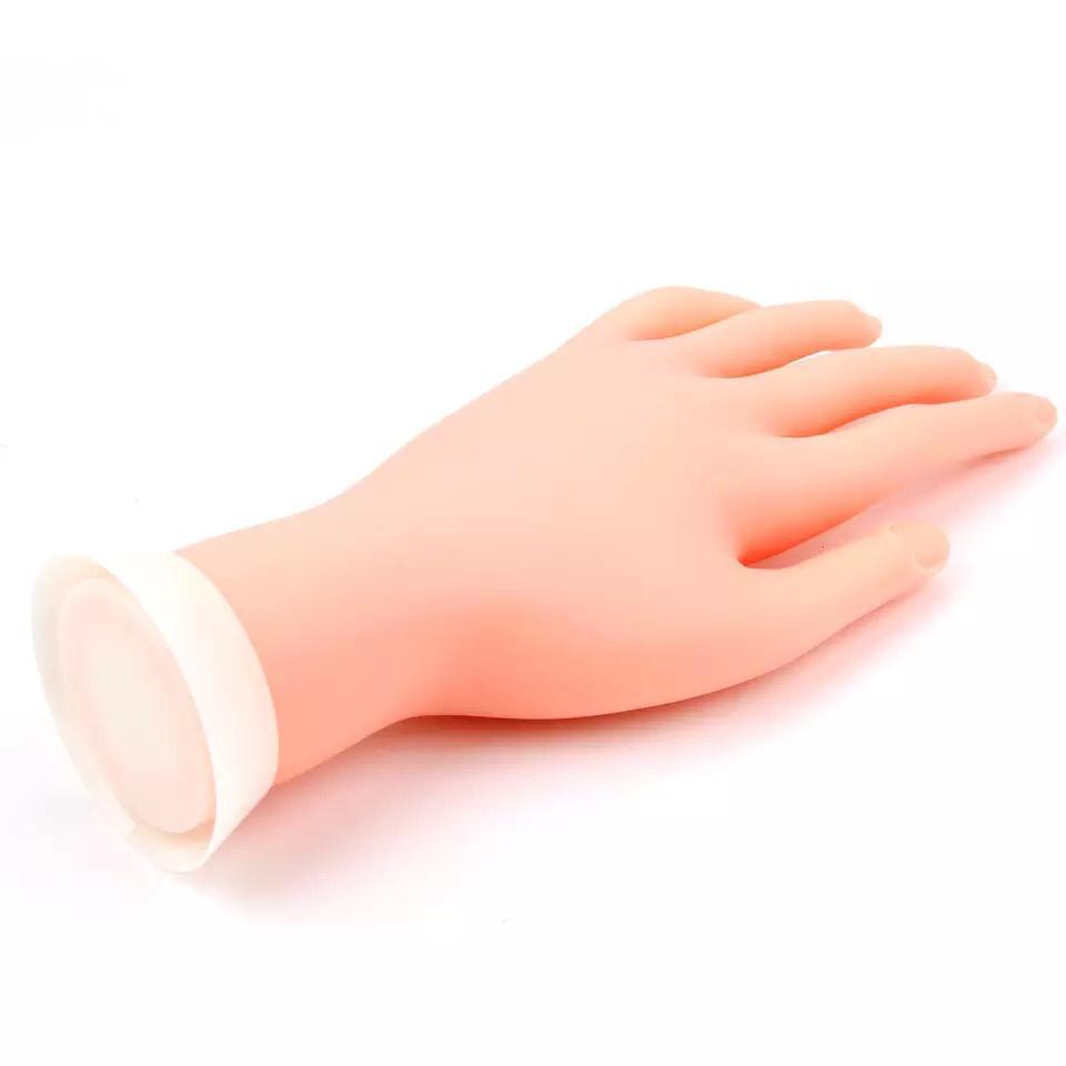 Mao de treino para manicure  - Sílvia Pedrarias & Cia