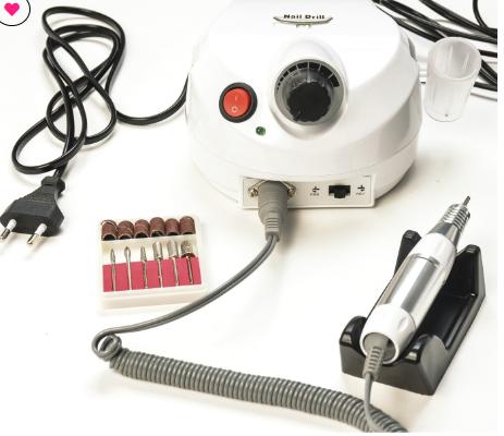 Motor nail drill 30.000 RPM modelo porquinho  - Sílvia Pedrarias & Cia