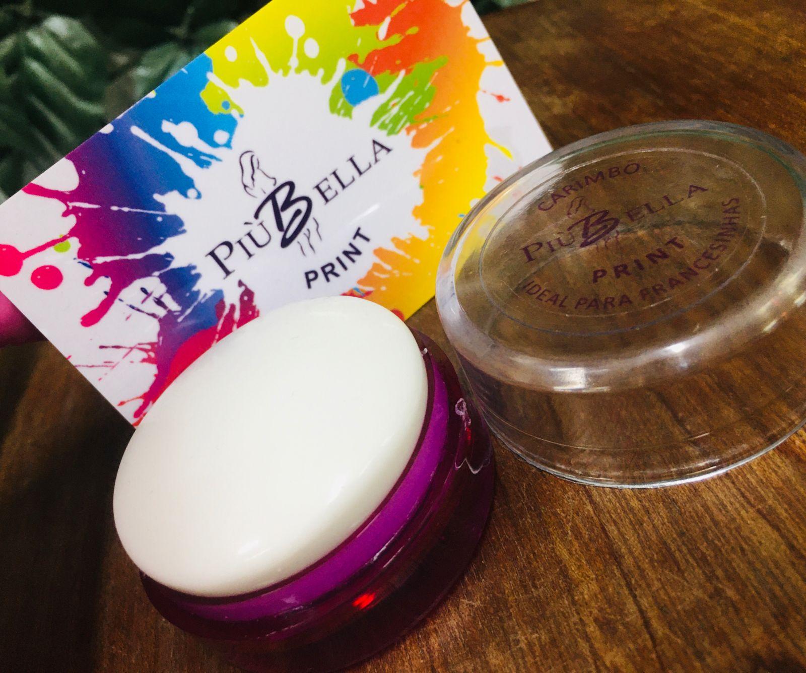 Novo Carimbo de Silicone leitoso para francesinha - PIU BELLA - Lançamento carimbo para unhas  - Sílvia Pedrarias & Cia