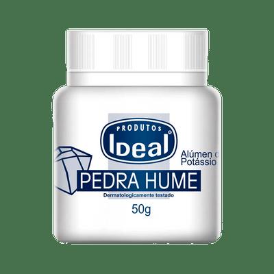Pedra hume em pó Ideal 50g  - Sílvia Pedrarias & Cia