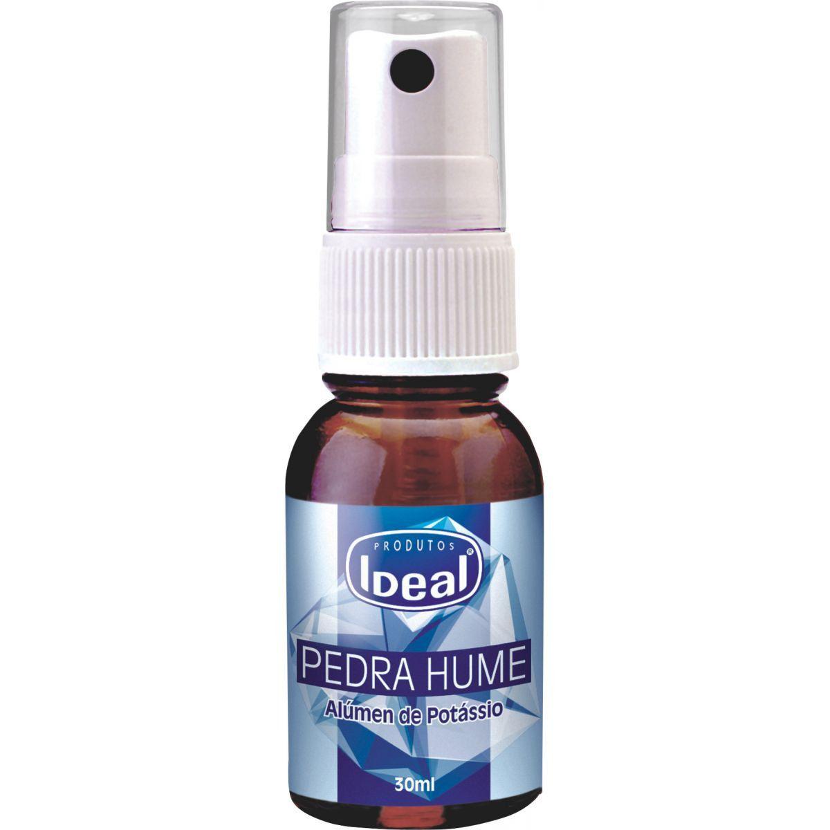 Pedra hume spray Ideal 30ml  - Sílvia Pedrarias & Cia
