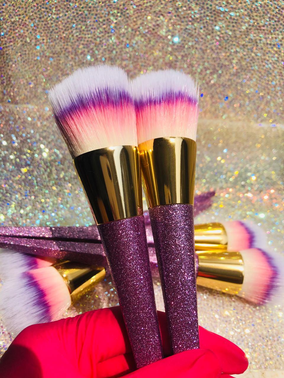 Pincel para tirar po com glitter  - Sílvia Pedrarias & Cia