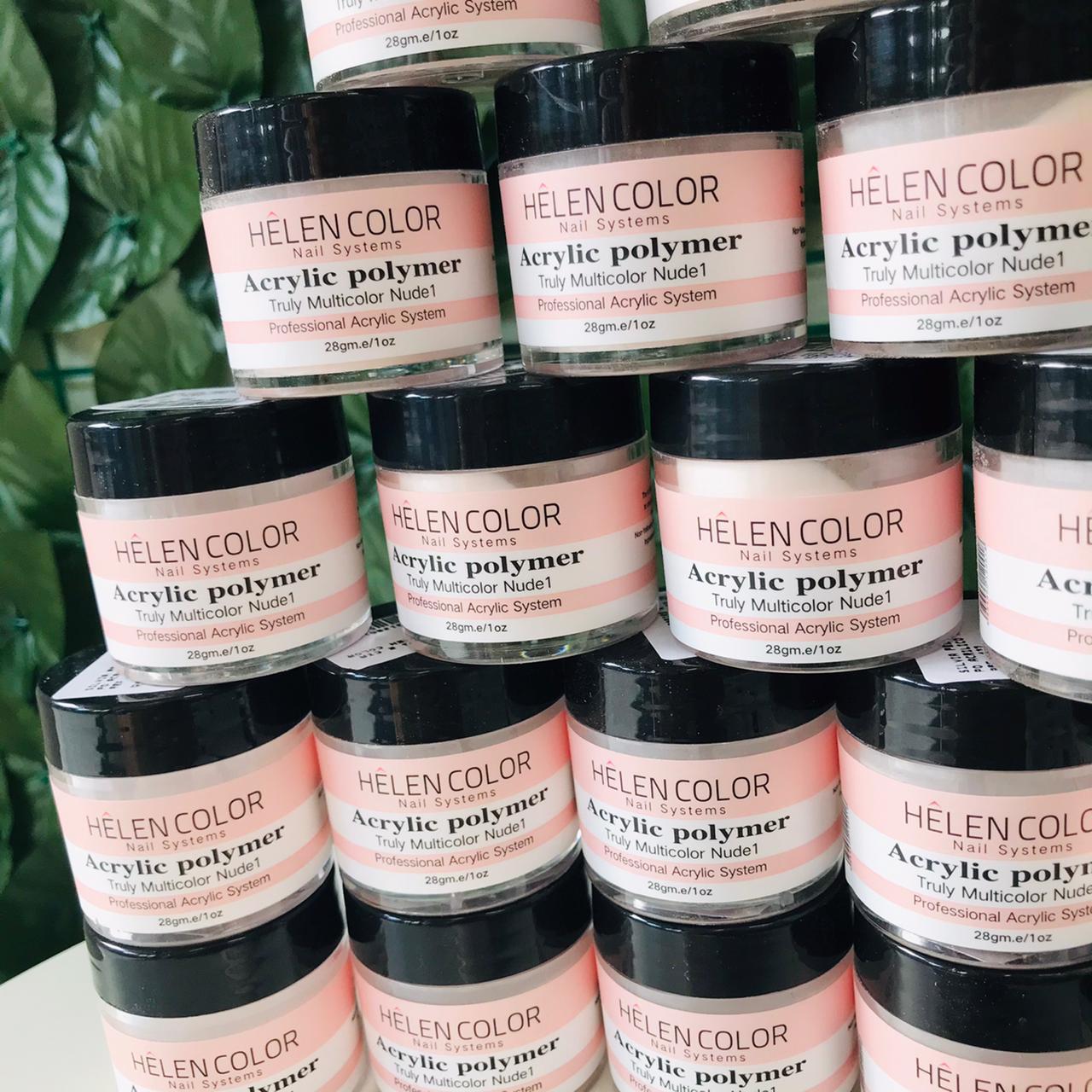 Pó acrílico Helen Color   - Sílvia Pedrarias & Cia
