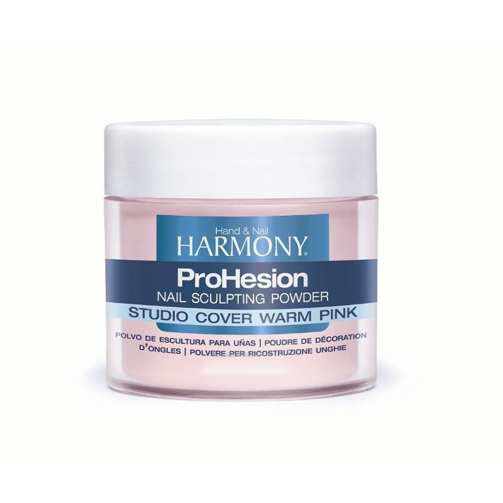 Pó Harmony Acrílico Studio Cover Warm Pink 28g   - Sílvia Pedrarias & Cia