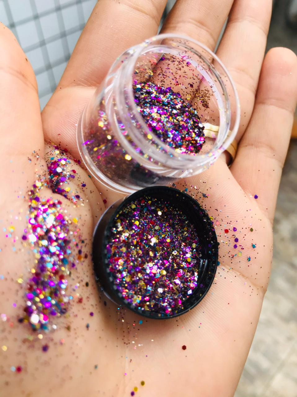 Pote Glitter mix  - Sílvia Pedrarias & Cia
