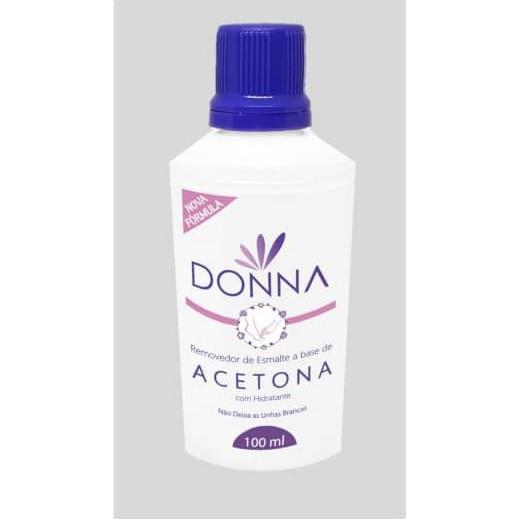Removedor de esmalte Donna (á base de acetona)  - Sílvia Pedrarias & Cia