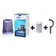 Filtro Bbi Para Chuveiro Ducha Shower Transparente + 1 Refil + Chave - Remove Cloro Anticloro