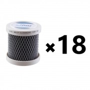 Kit 18 Carvão Ativado Para Geladeira Remove Cheiro Odor Bbi Odorles Desodorizador