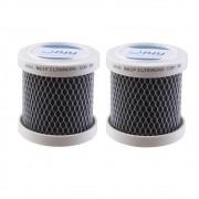 Kit 2 Carvão Ativado Para Geladeira Remoção Cheiro Bbi Odorless Desodorizador
