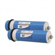 Kit 2 unidades Membrana de Osmose Reversa BBI 200 GPD 3012