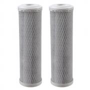 Kit 2 Unidades Refil Filtro BBI Carbon Block Encaixe para Carcaças de 9.3/4 x 2,5