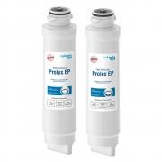 Kit 2 Unidades Refil Filtro Planeta Água Prolux EP 1082 Compatível com Purificador de Água Electrolux PE10B e PE10X
