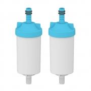 Kit 2 unidades Refil Filtro Planeta Água Torneira Universal Pró Saúde Compatível para Delta, Real Leão, Marchezan