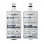 Kit 2x Refil Filtro de Água para Purificador Esmaltec Puragua Acqua7 Original 5490000558