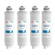 Kit 4 Refil Filtro Prolux G Para Purificador Electrolux Acqua Clean Paufcb30 Pappca40 Pa21g Pa26g Pe11x Pe11b Pa31g Pc41