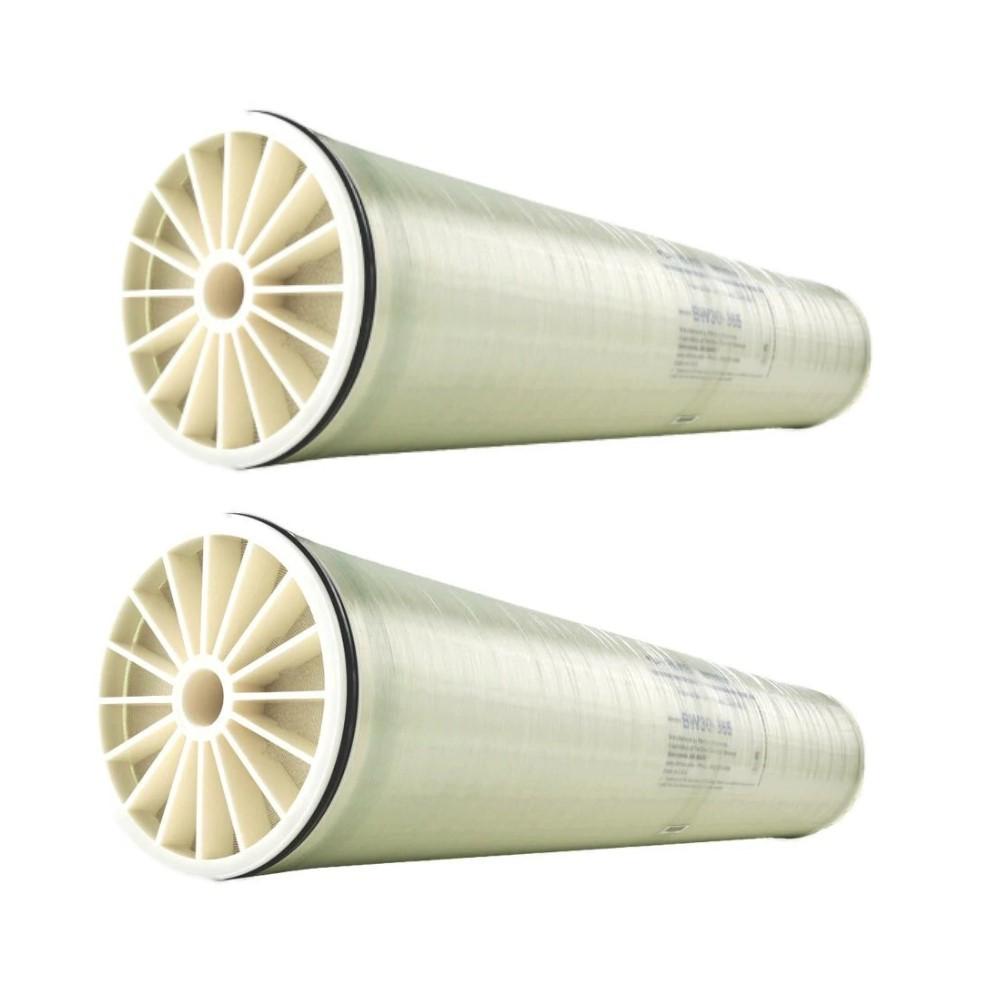 """Kit 2 unidades de Membrana de Osmose Reversa 8"""" Água Salobra Dow Filmtec BW30-400"""
