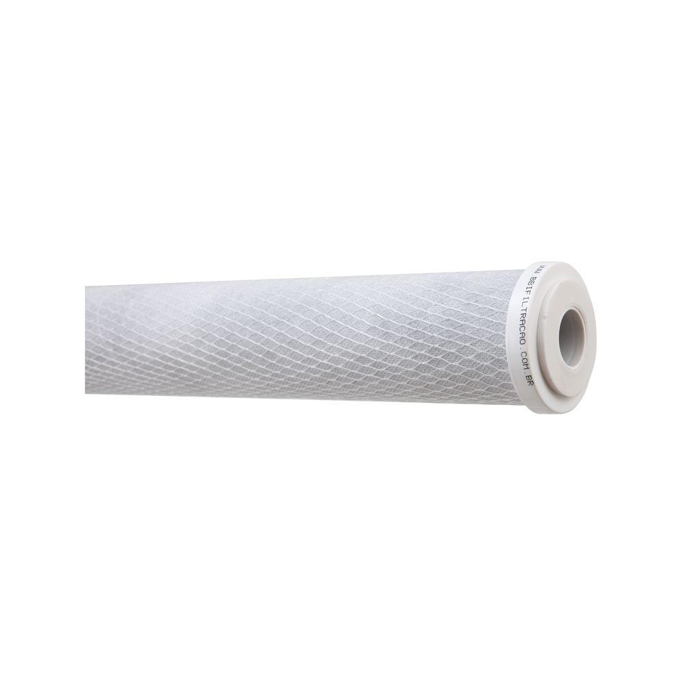 "Refil Filtro BBI Carbon Block 20"" x 2,5"" E500 Encaixe  - SUPERFILTER"