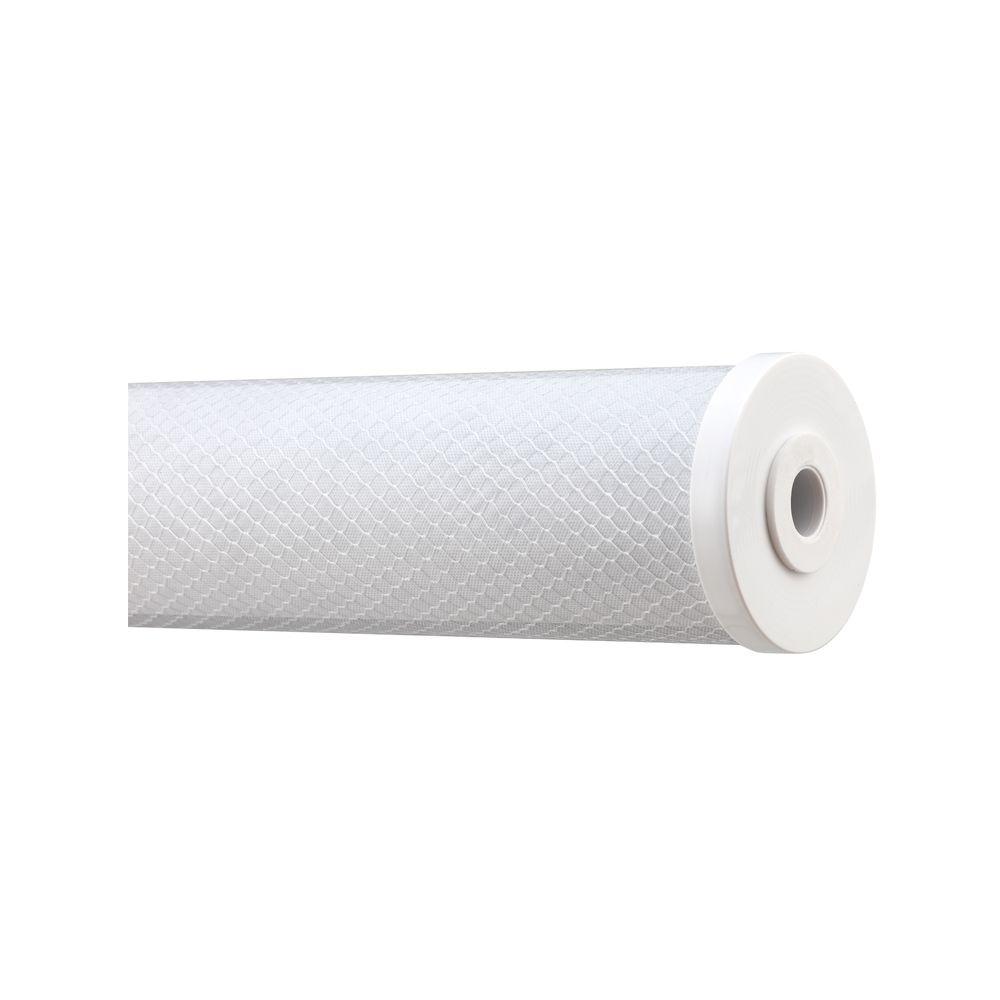 """Refil Filtro BBI Elemento Filtrante Carbon Block BIG 20"""" x 4,5"""" 5 Micra"""