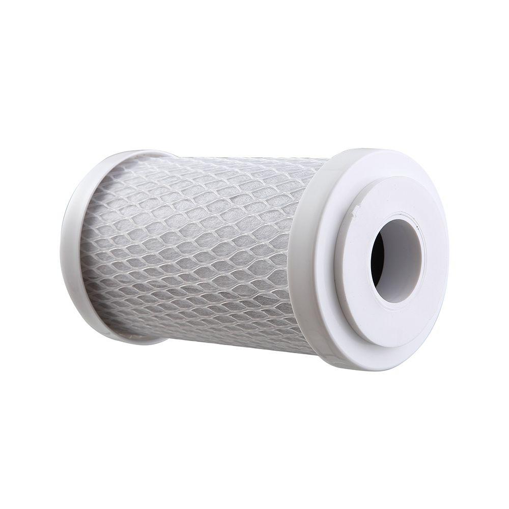 """Refil Filtro Carbon Block BBI 5"""" x 2,5"""" - 125 Encaixe  - SUPERFILTER"""
