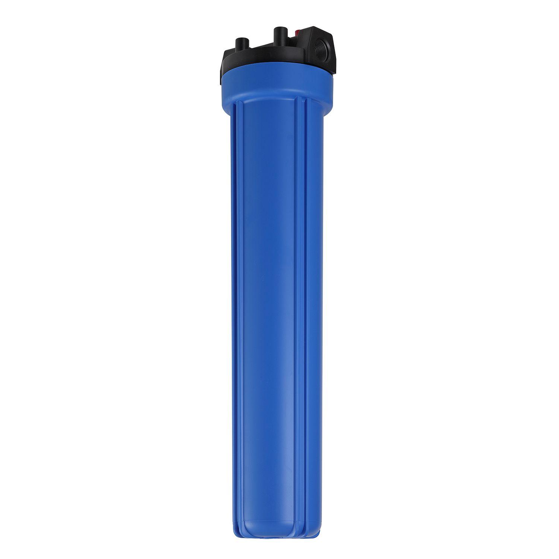 "Carcaça Azul para Filtro BBI Slim 20"" Rosca 3/4"