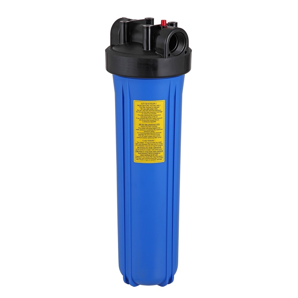 Kit Carcaça Filtro BIG Blue BBI 20 x 4,5 com chave e suporte
