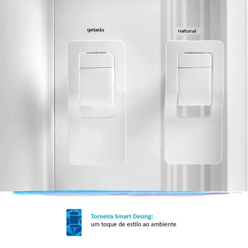 Purificador de Água Gelada Branco IBBL FR600 Exclusive