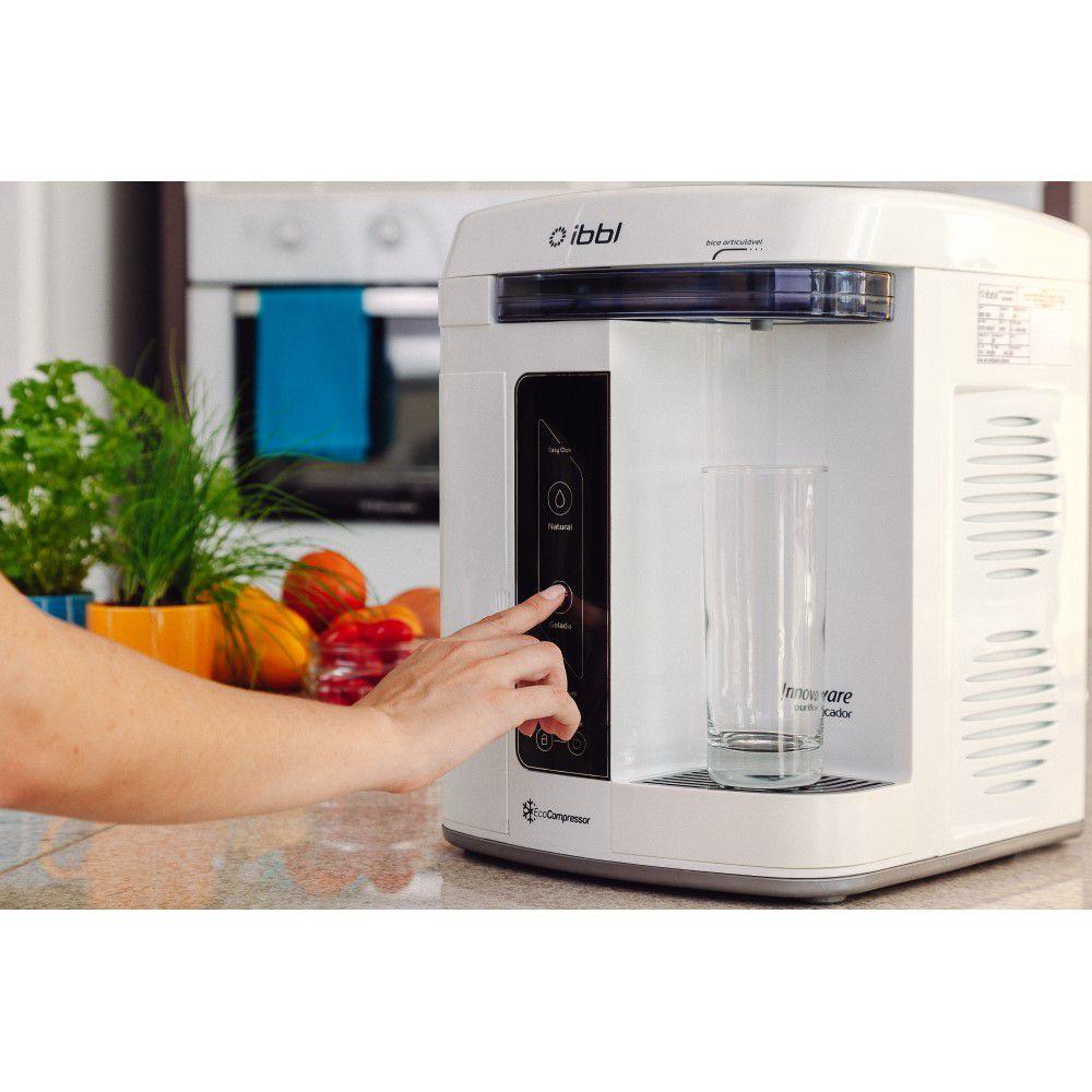 Purificador de Agua Gelada Refrigerado IBBL Innovare Branco 110v