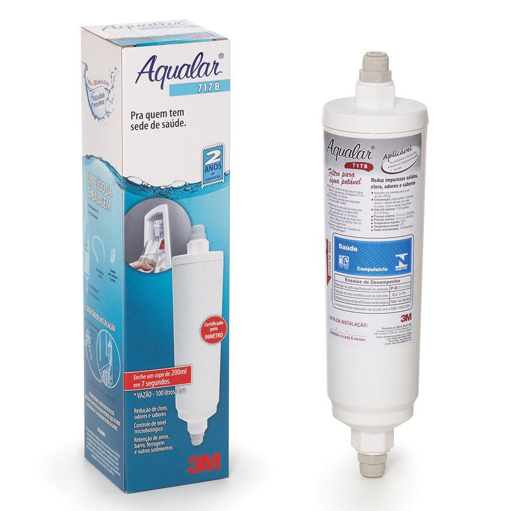 Filtro de Água AP717B 3m Aqualar para geladeiras e maquinas de café e gelo